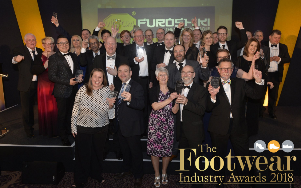 The Footwear Industry Awards 2018 was held at the National Conference Centre, Birmingham, on 18th February 2018.